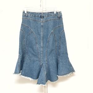 Younique Skirts - Younique Jeans Flared Bottom Skirt